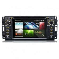 AUTORADIO GPS 6.2 HD BLUETOOTH JEEP WRANGLER GRAND CHEROKEE COMPASS EO