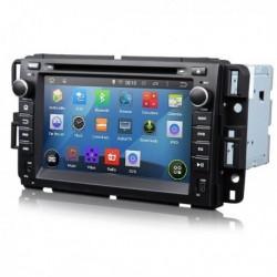 AUTORADIO CHEVROLET SILVERADO GMC ANDROID QUADCORE USB SD EONON 3G BLU