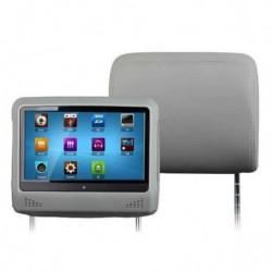 Touch Screen poggiatesta DVD 9 L0276 DVD USB SD MP3 DIVX MP4 RIMOVIBIL
