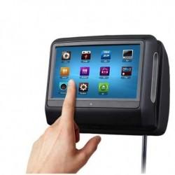 Touch Screen poggiatesta DVD 9 EONON L0278 DVD USB SD MP3 DIVX RIMOVIB