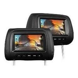COPPIA MONITOR POGGIATESTA Digital screen 7 USB SD MP3 FM TRANSMITTER