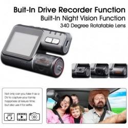 EONON R0002 2 LCD Screen 720P HD Car DVR - 140 Degree Wide Angle