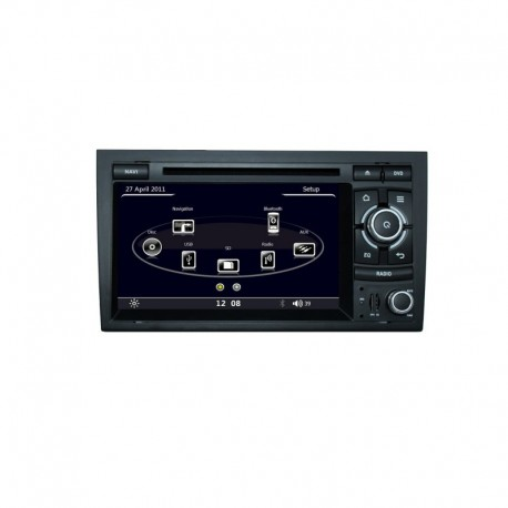 AUTORADIO SPECIFICA AUDI A4 BLUETOOTH AUDI UI GPS DVD DIVX CD MP3 USB