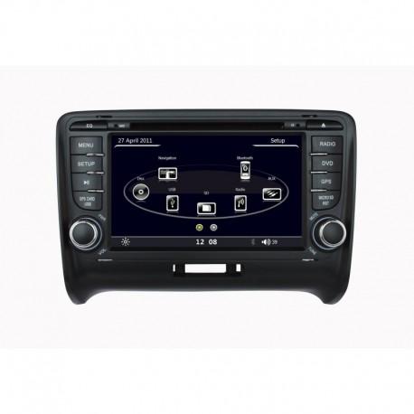 AUTORADIO SPECIFICA AUDI TT BLUETOOTH GPS MP3 DIVX SD USB DVD CD