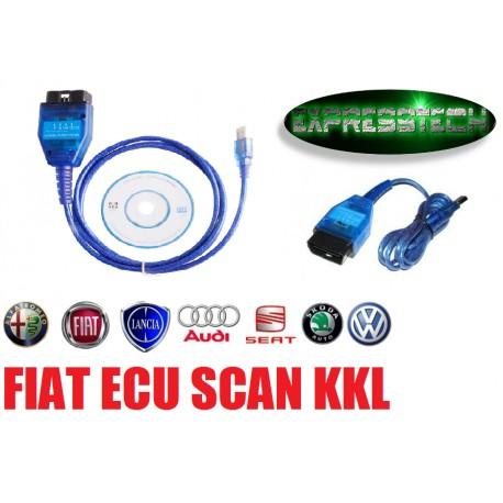 Diagnosi Auto - KKL VAG-COM 409.1 con selettore Gruppo FIAT, VOLKSWAGEN