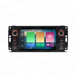"AUTORADIO 2 DIN SPECIFICA per Jeep / DODGE / Chrysler   6.2 ""Android 6.0 Octa Core 64-bit"