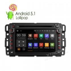 "AUTORADIO 2 DIN SPECIFICA per CHEVROLET / Buick / GMC / HUMMER   7""Android 5.1 Lollipop 64-bit Operating System Quad Core"