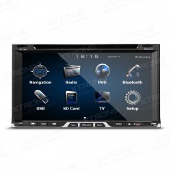"AUTORADIO 2 DIN UNIVERSALE TD691GT   6,95"" HD Touch Screen digitale 1080P Video Doppio Din"