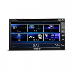 "AUTORADIO 2 DIN UNIVERSALE TD693   6,95"" TFT digitale 1080P Video Doppio Din  Dvd Bluetooth iPod Touch"