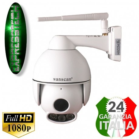 WANSCAM HW0054 1080P MINI DOME IP CAMERA ONVIF PTZ