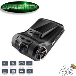 """Dash Cam Wifi, Telecamera Auto 2.45 """"LCD FHD 1080p 170 gradi grandangolare Car DVR con Sony Video sensore, visione notturna,"""
