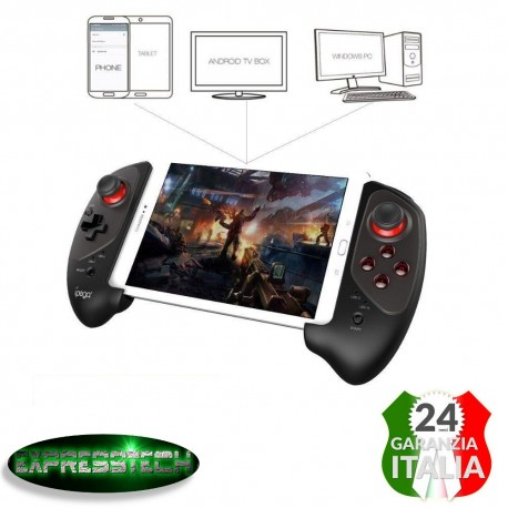 Gamepad Bluetooth Retrattile Wireless Controller di Gioco per smartphone-tablet Androiod e iOS