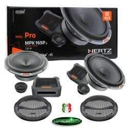 HERTZ MPK 165P.3 kit a 2 vie 16,5 cm 3 Ohm serie Mille Pro