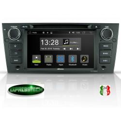 Autoradio specifico per auto per BMW serie 3 E90  -  CPU Allwinner T8 con 2 GB di RAM e 32 GB di memoria Flash