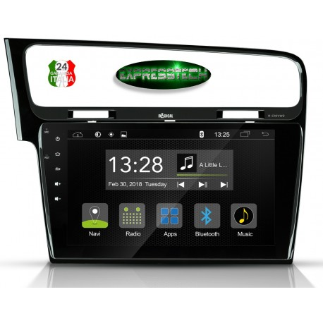 AUTORADIO SPECIFICO PER GOLF 7 VW