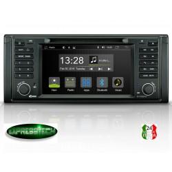 AUTORADIO 2 DIN ANDROID SPECIFICO PER BMW 5 SERIE E39