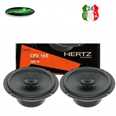 Hertz CPX 165 Linea Cento Pro Kit Casse Coassiali 165 MM Sistema 2 vie 285W