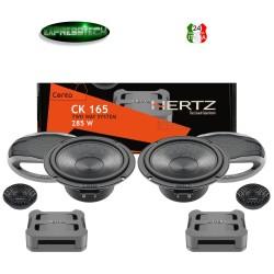 Hertz CK165 Linea Cento Kit Casse Altoparlanti Sistema 2 Vie 165MM 285W +Griglie
