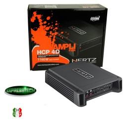 Amplificatore Hertz Copmact-Power Classe D HCP 4D 2/3/4 Canali 1160W
