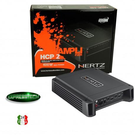 Hertz HCP 2 Linea Compact-Power Amplificatore Stereo Compatto 400W 1/2 Canali