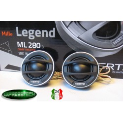 HERTZ ML 280.3 SERIE LEGEND COPPIA TWEETER CUPOLA DA 28mm