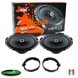 Hertz DCX 170.3 Kit Casse Altoparlanti Anteriori Mercedes Classe A W176 DA 2012