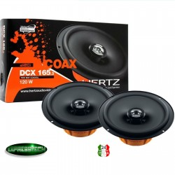 Hertz DCX 165.3 Coppia Casse Altoparlanti Coassiali 2 vie 165 mm 16,5 cm 120W