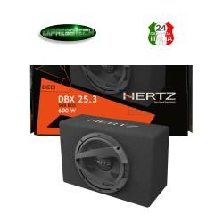 Hertz DBX 25.3 Sub Box Subwoofer 25 CM 600W Linea Dieci Cassa Chiusa