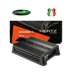 Hertz DPOWER 1 Amplificatore Mono 1 Canale 600W Di Classe D Linea DPOWER Per Sub