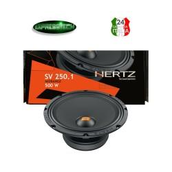 Hertz SV 250.1 Linea Spl Show Cassa Midrange Altoparlante 500W 250MM