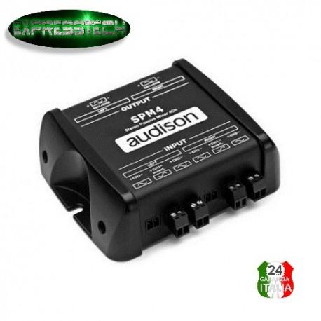 Audison SPM4 - Stereo Passive Mixer 4 canali