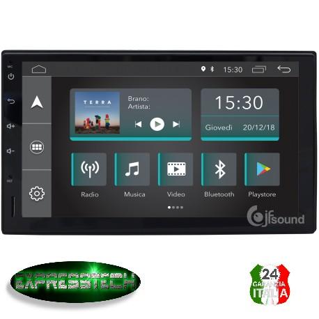 "Autoradio 7"" Android 6.0 quad core 2din lettore DVD GPS Bluetooth USB UNIVERSALE"